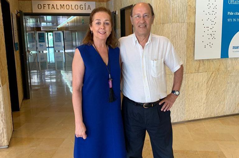 Agradecimiento de la Dra. Merchante al Dr. Castanera de Molina