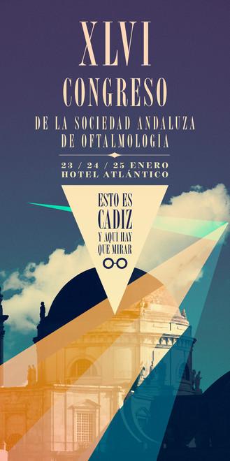 congreso sociedad andaluza de oftalmología  Cádiz