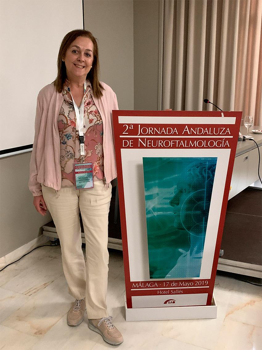 Testimonio de la Dra. Merchante tras su asistencia a la 2ª Jornada de Neuro Oftalmología de la Sociedad Andaluza de Oftalmología
